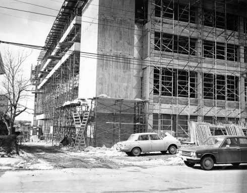 SSU Library Construction 1971