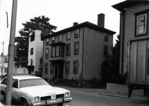 Lynde Street Choate House MACRIS