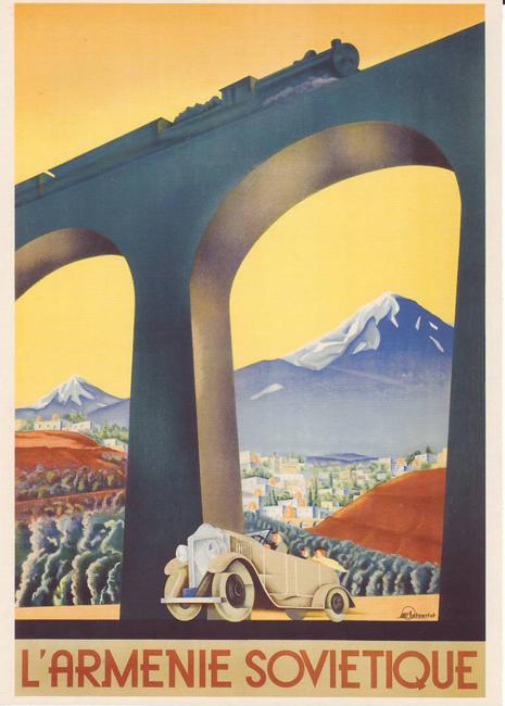 Soviet Poster Armenia