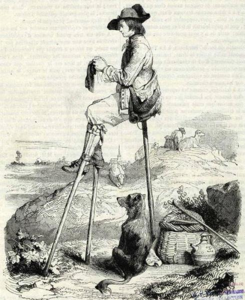 Stilts Shepherd NYPL