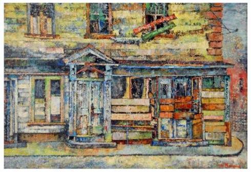 Raynes Salem Street Corner 1930s
