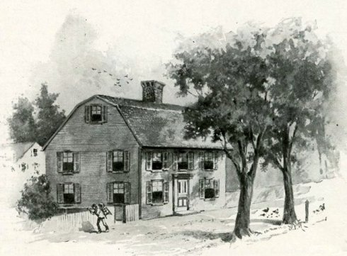 Hawthorne's birthplace-001