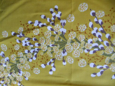 Coltsfoot tablecloth
