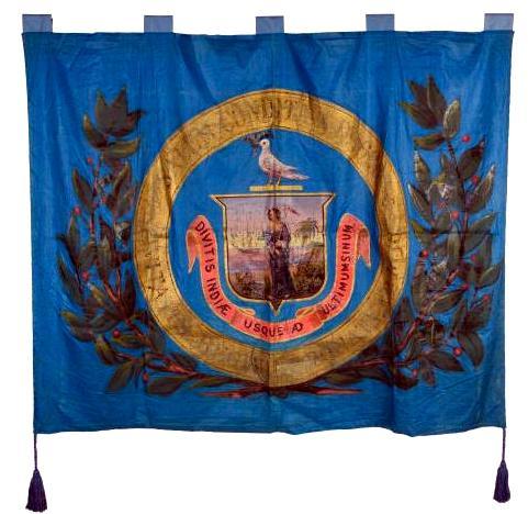 Fabric Salem Banner