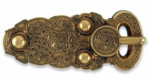 Sutton Hoo Belt Buckle BM