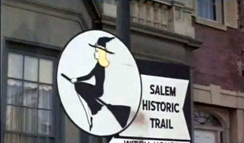 Bewitched Salem Sign