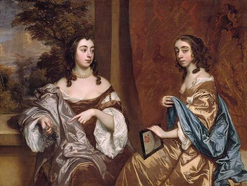 Mary and Elizabeth Capel Lely