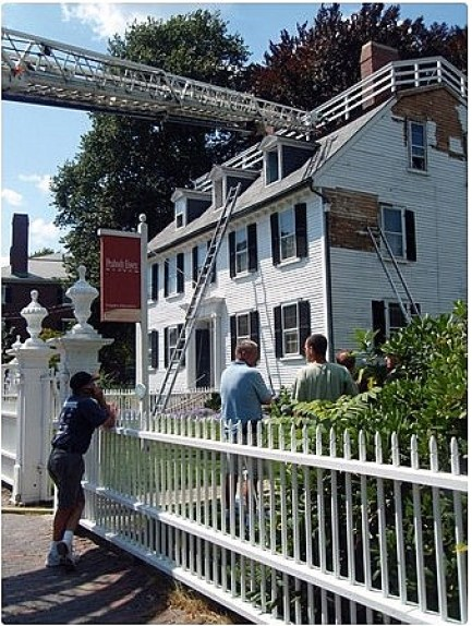 Ropes Mansion Fire August 2009