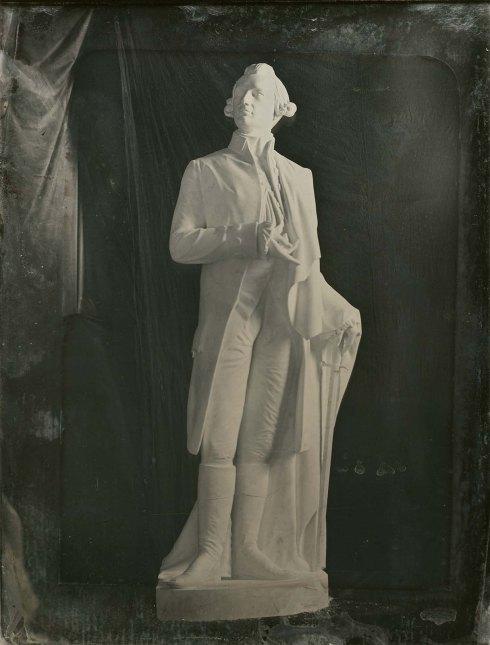 Warren Statue by Dexter