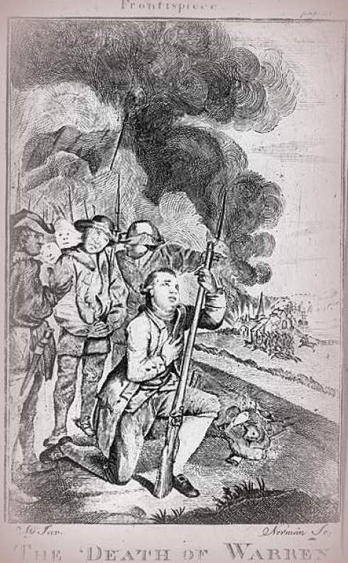 Warrens Death 1775