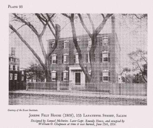 Howell's Houses Felt House