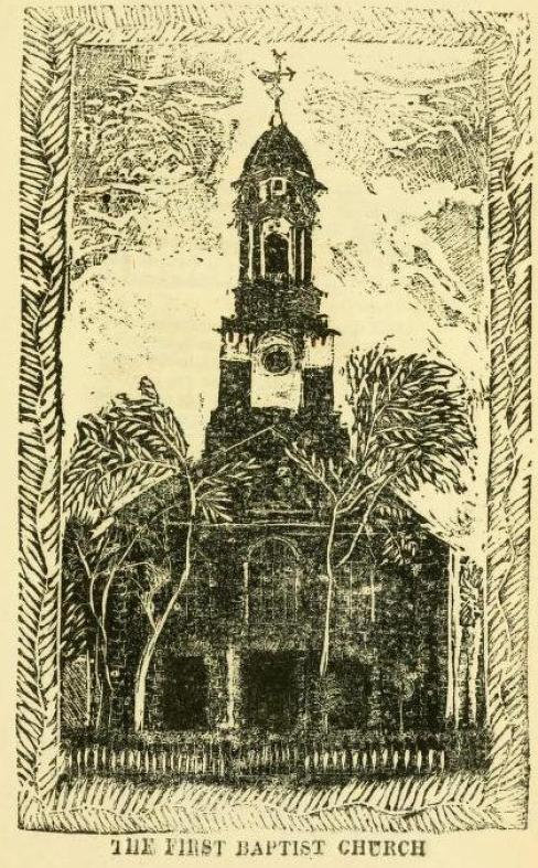 Cook First Baptist Church Print
