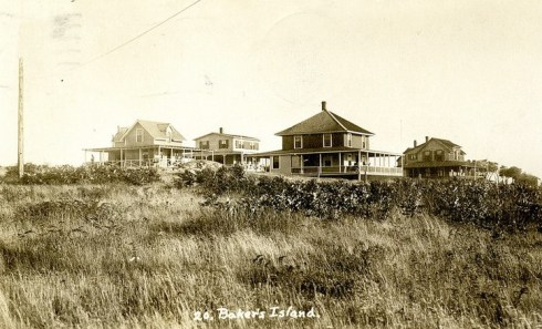 Baker's Island Houses SSU Archives 3