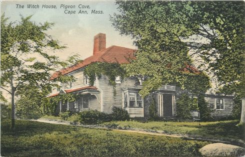 Witch House Rockport 1910