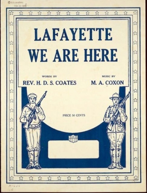 Lafayette We are Herd 1919 LC