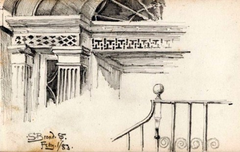 SS Savannah Sketch