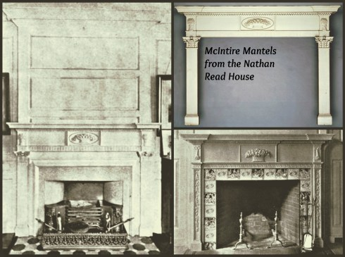 McIntire Mantels Collage