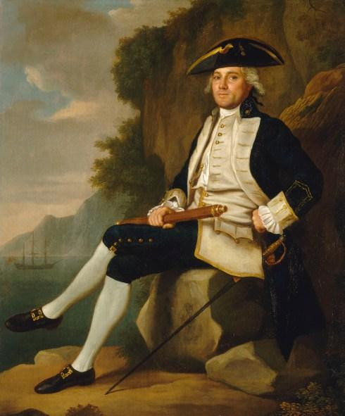 Captain Sir Edward Vernon NMM