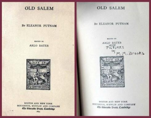 Miss Brooks Embellishes Old Salem