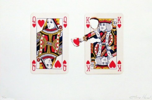 Elmo Hood PlayingCard Print