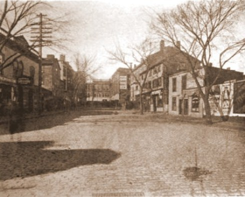 Salem 1912 Central Street to Essex St