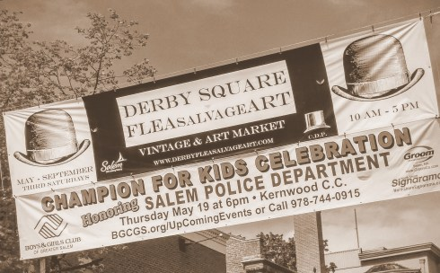 Derby Square Banner Sepia