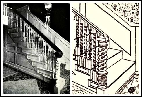 Babbidge House Stairways