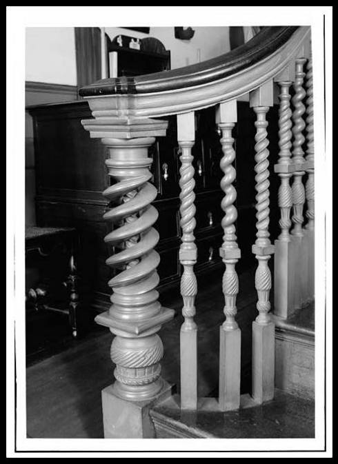 Derby House Stairway HABS