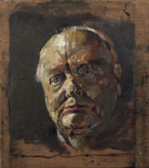 NPG 5332; Winston Churchill by Graham Vivian Sutherland
