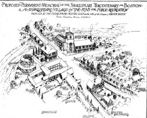 Urban Village Shakespeare Frank Chouteau Brown Architectural Year Book