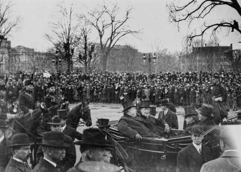 inauguration-wilson-and-taft-1913