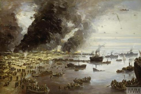 Dunkirk painting 1940