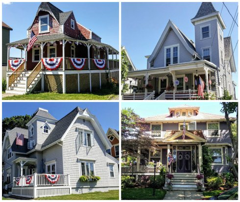 July 4 Cottages collage