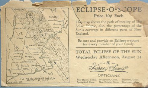 Eclipse 1932 Williams 2