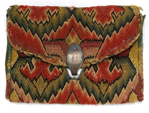 Flame-stitch pocketbook bonhams