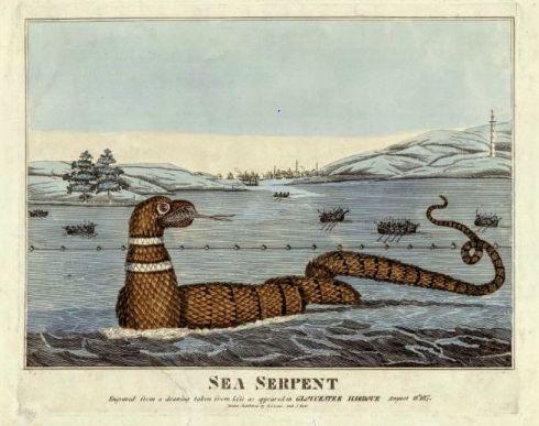 Summer Reading Sea Serpent