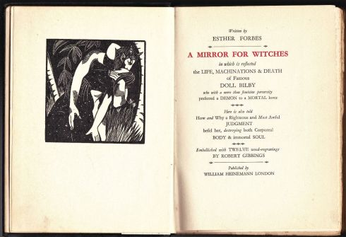 Salem Fiction Mirror for Witches 1928