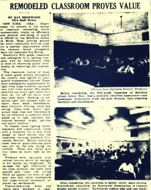 Stylish Schools 1946