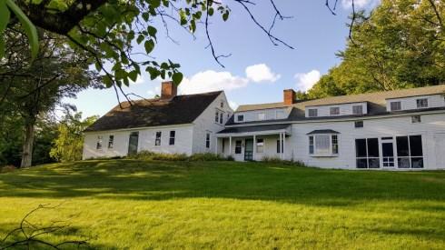 White NH Hill House