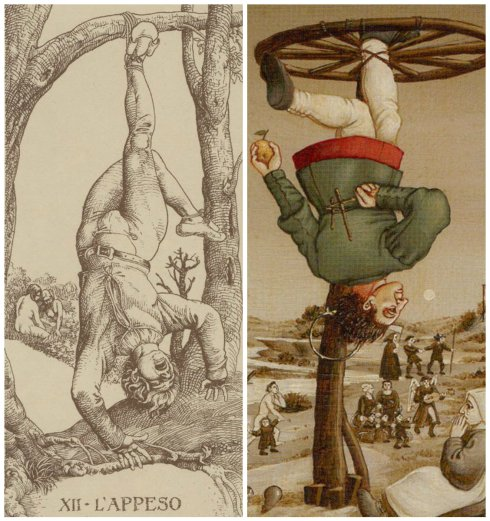 Hanged Men collage2