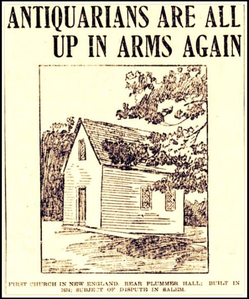 Antiquarian in Arms 1901