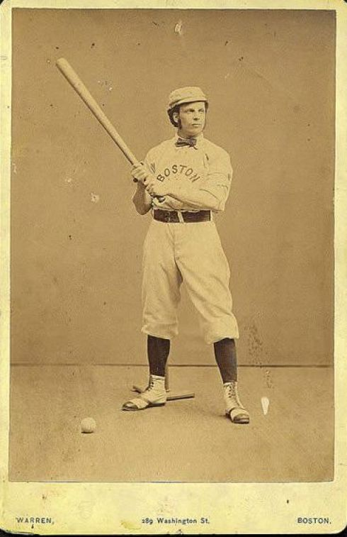 Baseball George Wright 1871