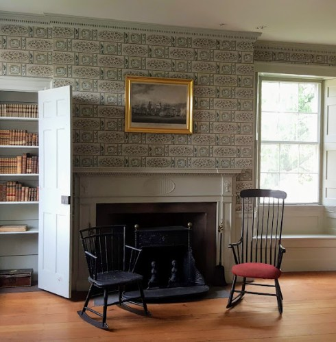 Gardner Pingree Back parlor