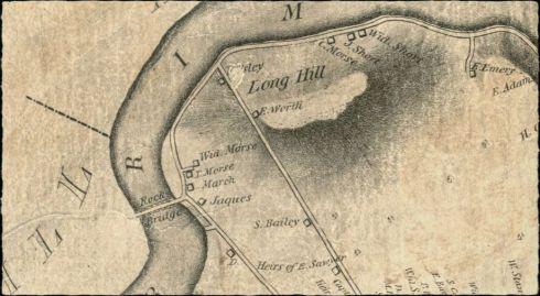Rocks Village Newburys Map