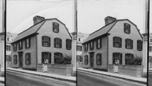 Hawthornes House 1926 Keystone Mast