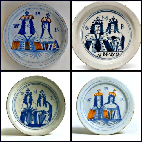 Coronation Plate Collage