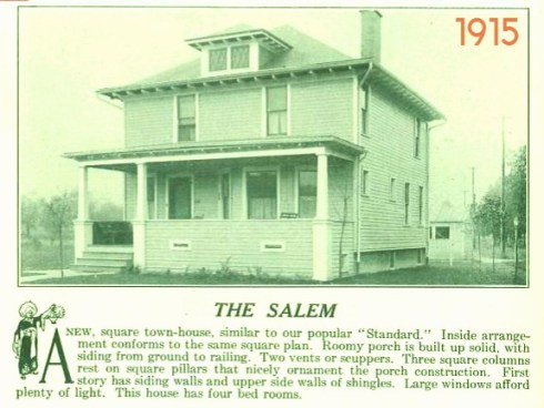 Salem Houses Aladdin 1915