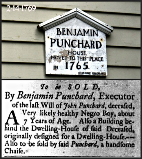 Slave Adverts Punchard