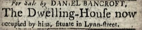 Bancroft July 1796