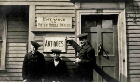 Antiques Witch House 1918 Cambridge Historical Society